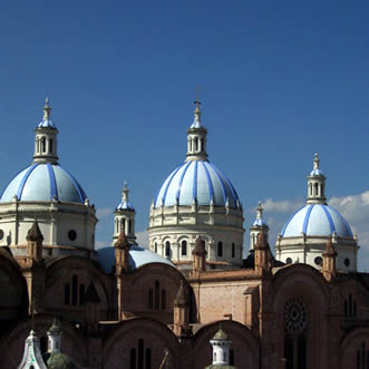 Cuenca Cathedral, Ecuador All-In-One